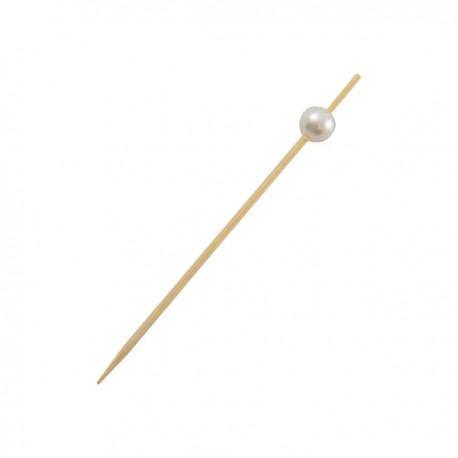 Pique bambou perle 90 mm