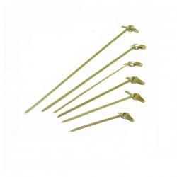 Pique bambou boucle 105 mm