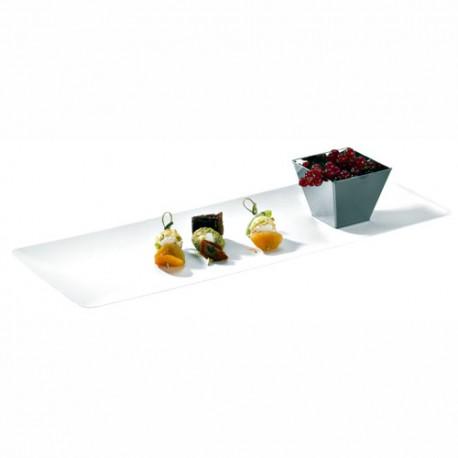 Assiette pulpe 390 x 150 mm