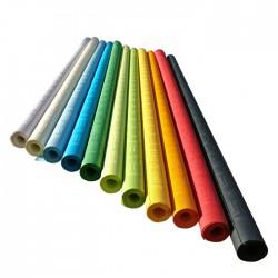 Nappes papier rouleau damassées vert 600x119,5 cm
